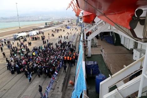 Mavi Marmara Gemisi Samsun'da galerisi resim 10
