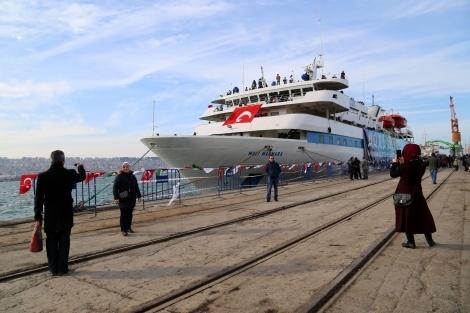 Mavi Marmara Gemisi Samsun'da galerisi resim 20