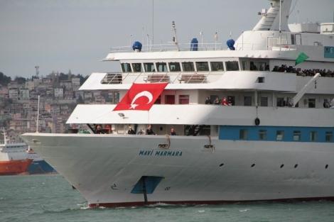 Mavi Marmara Gemisi Samsun'da galerisi resim 23