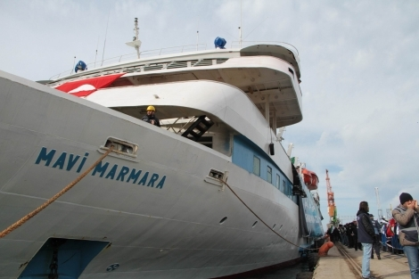 Mavi Marmara Gemisi Samsun'da galerisi resim 28