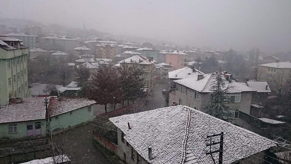 Nisan Ayi Samsun'a Kar Getirdi galerisi resim 10