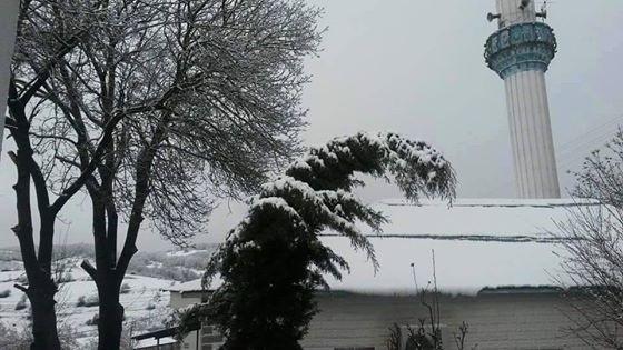 Nisan Ayi Samsun'a Kar Getirdi galerisi resim 14