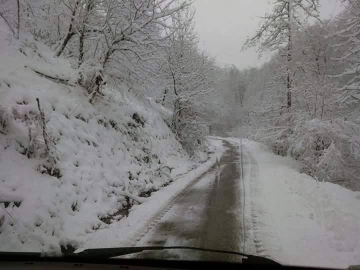 Nisan Ayi Samsun'a Kar Getirdi galerisi resim 15