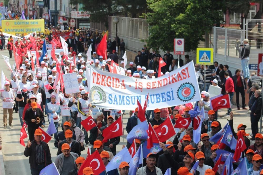 Samsun'da 1 Mayıs Kutlamaları galerisi resim 18