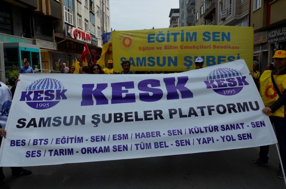 Samsun'da 1 Mayıs Kutlamaları galerisi resim 26