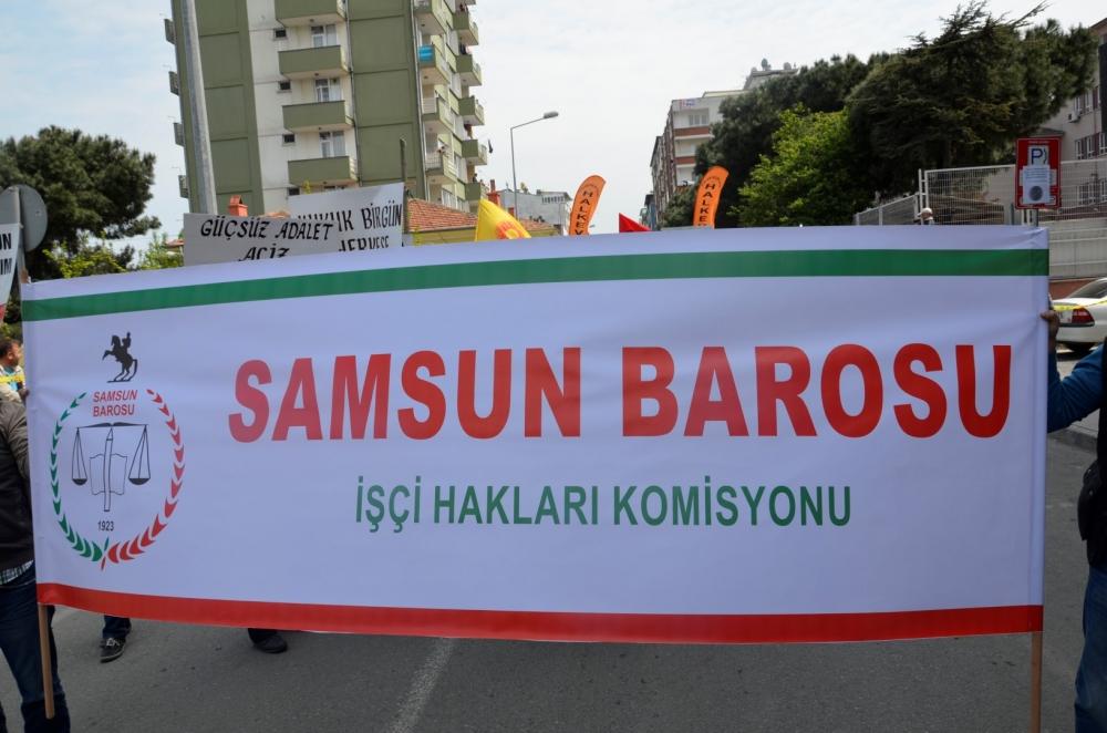 Samsun'da 1 Mayıs Kutlamaları galerisi resim 27