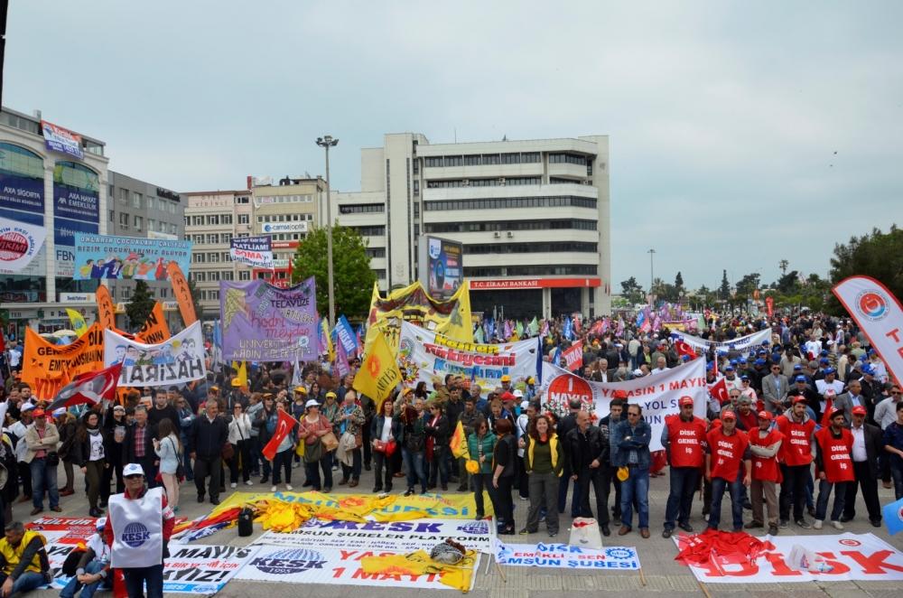 Samsun'da 1 Mayıs Kutlamaları galerisi resim 50