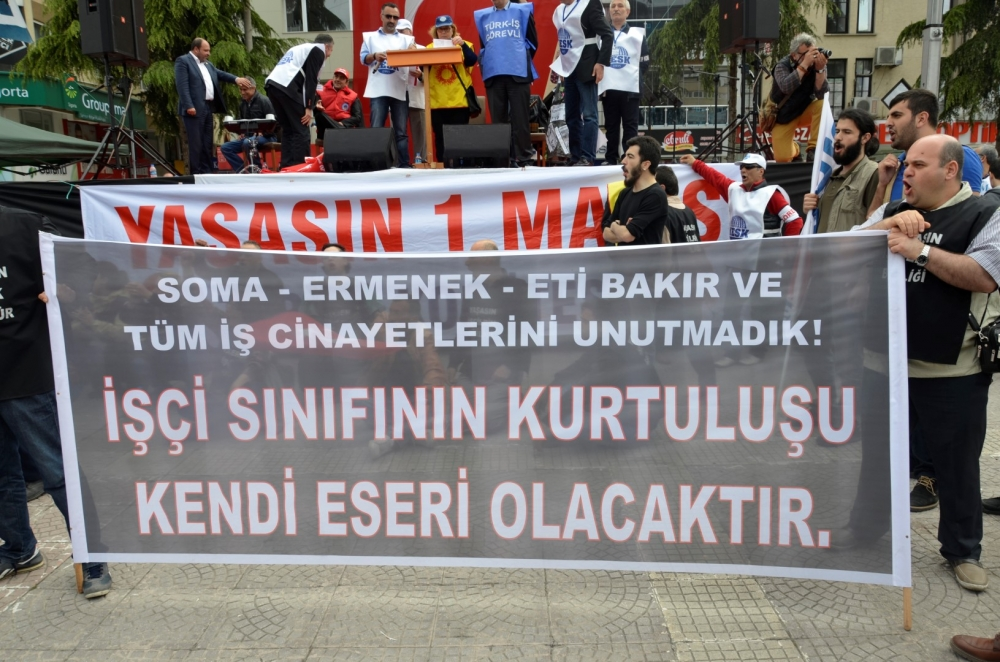 Samsun'da 1 Mayıs Kutlamaları galerisi resim 56
