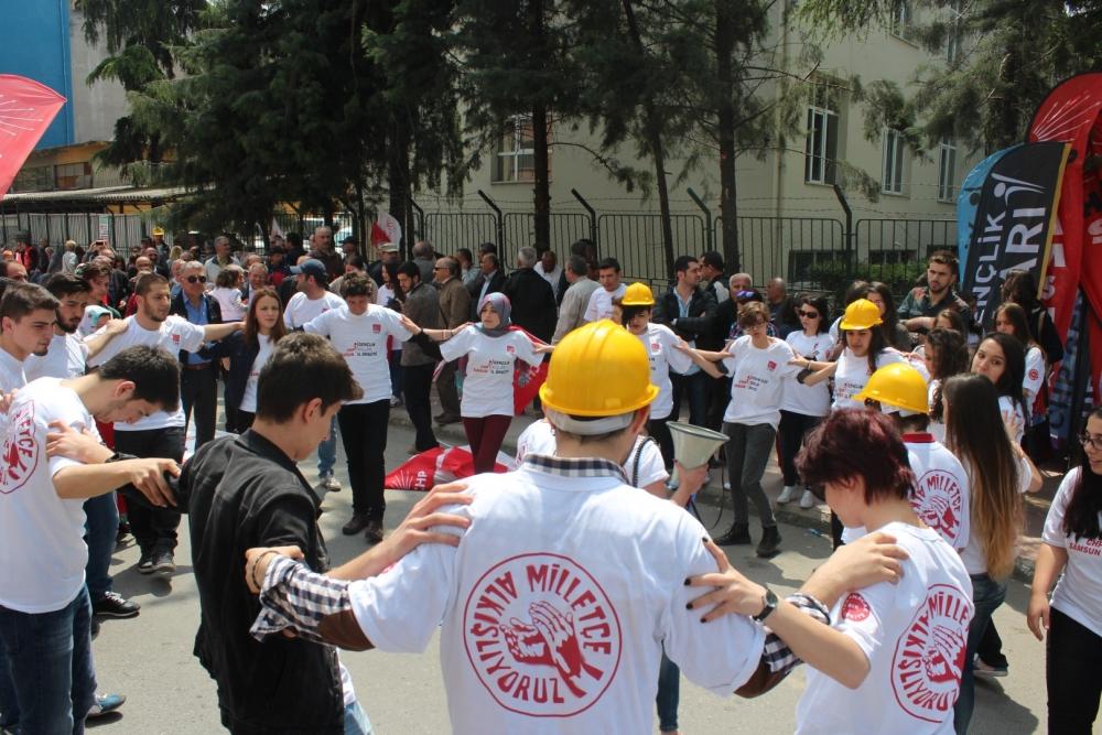 Samsun'da 1 Mayıs Kutlamaları galerisi resim 7