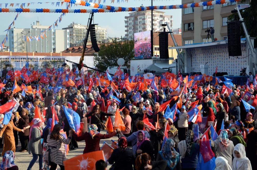 AK Parti Samsun Mitingi 2015 galerisi resim 13