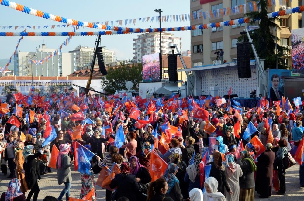 AK Parti Samsun Mitingi 2015 galerisi resim 17