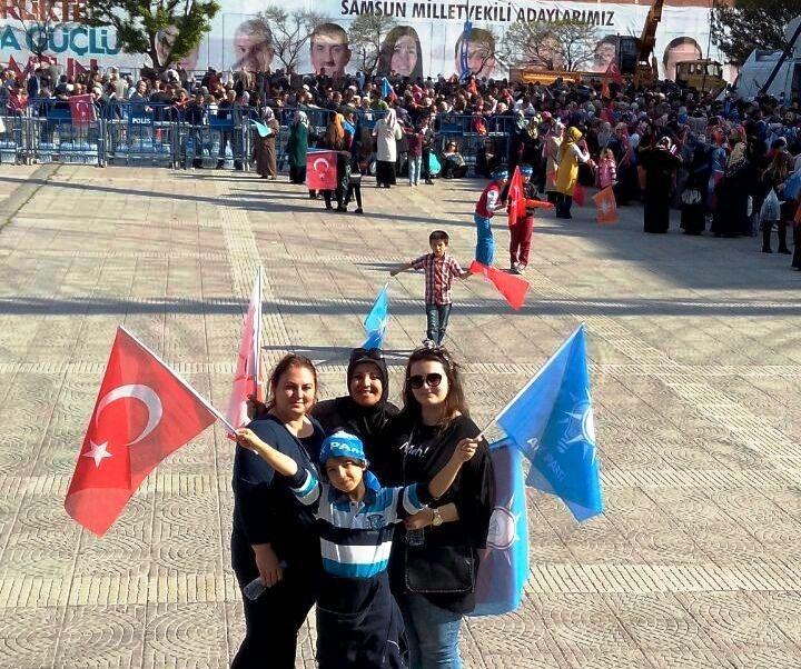 AK Parti Samsun Mitingi 2015 galerisi resim 19