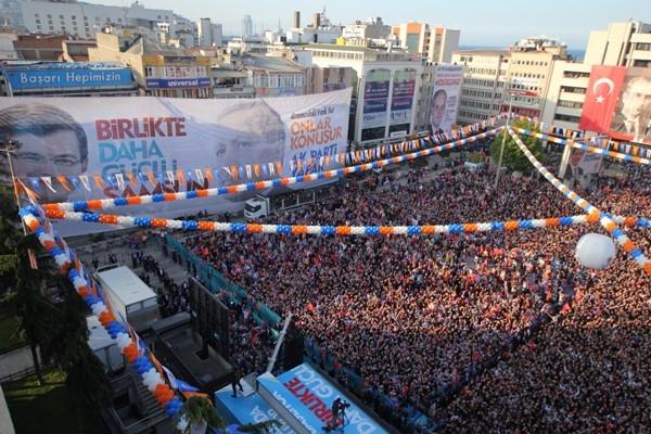 AK Parti Samsun Mitingi 2015 galerisi resim 21