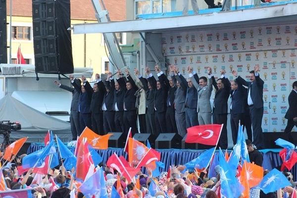 AK Parti Samsun Mitingi 2015 galerisi resim 25