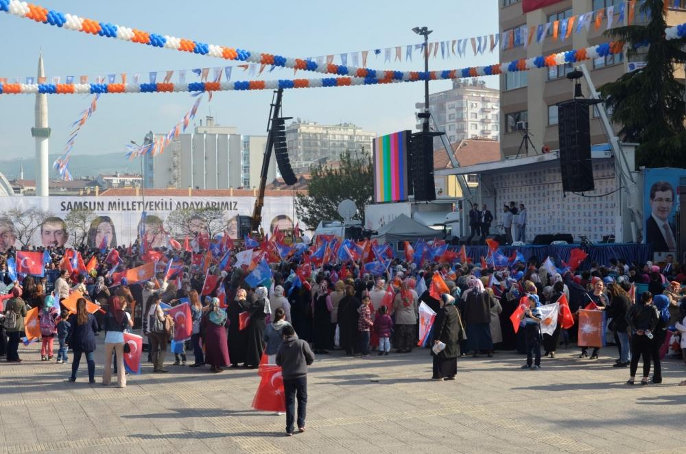AK Parti Samsun Mitingi 2015 galerisi resim 3