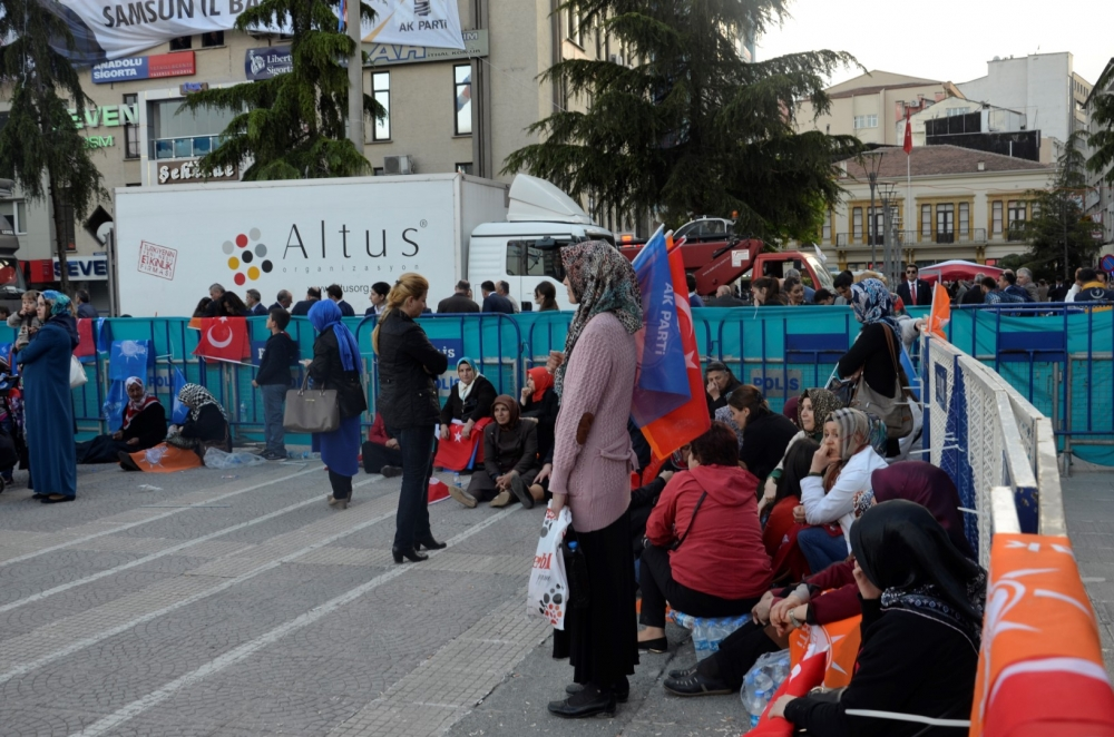 AK Parti Samsun Mitingi 2015 galerisi resim 33