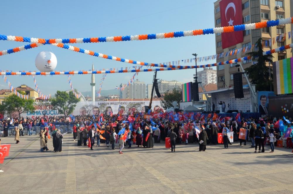 AK Parti Samsun Mitingi 2015 galerisi resim 4