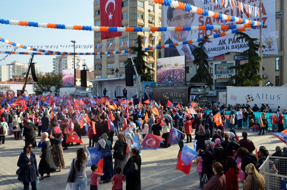 AK Parti Samsun Mitingi 2015 galerisi resim 9