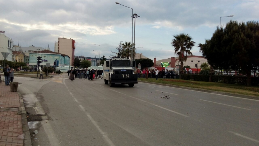 HDP Samsun Mitingine Protesto galerisi resim 13