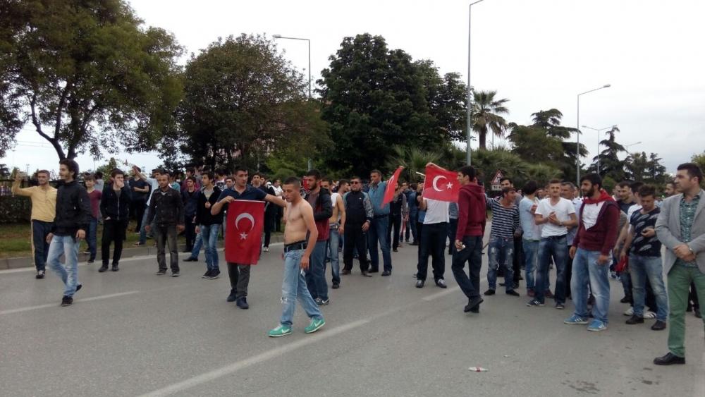 HDP Samsun Mitingine Protesto galerisi resim 14