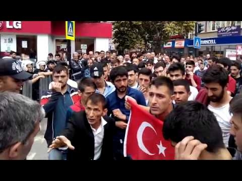 HDP Samsun Mitingine Protesto galerisi resim 16