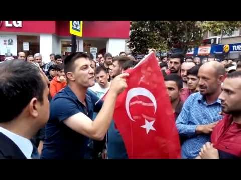 HDP Samsun Mitingine Protesto galerisi resim 17