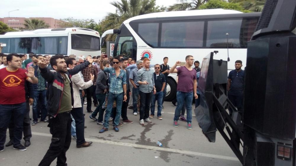 HDP Samsun Mitingine Protesto galerisi resim 2