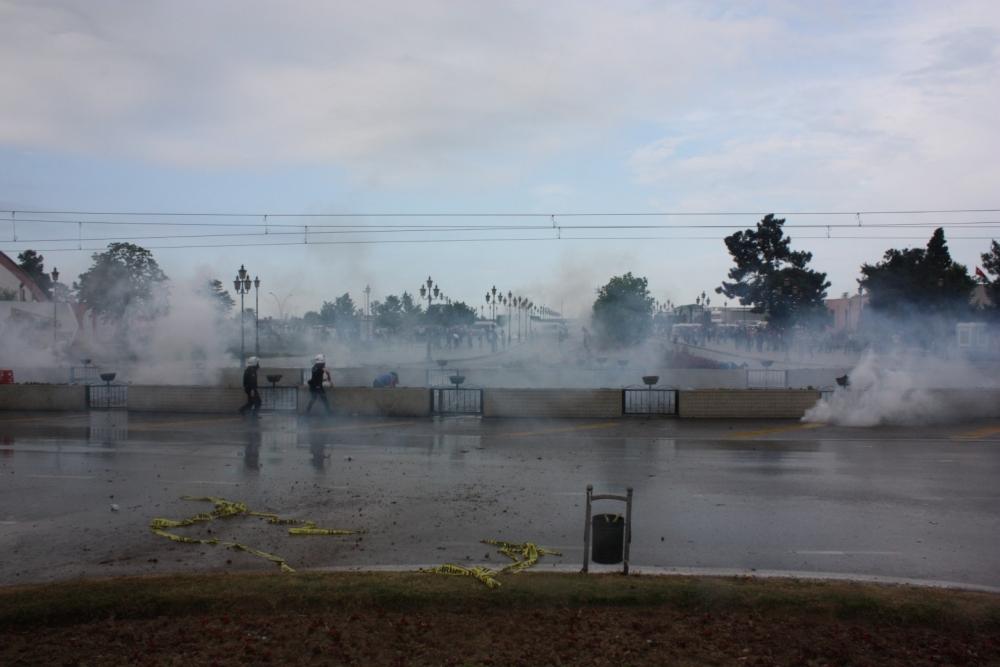 HDP Samsun Mitingine Protesto galerisi resim 21