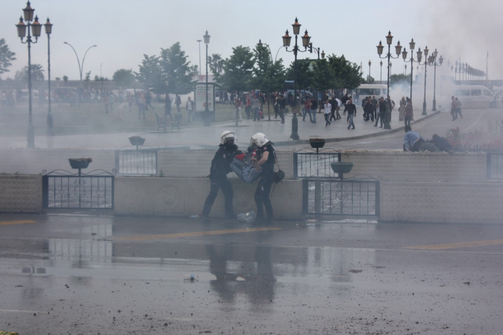 HDP Samsun Mitingine Protesto galerisi resim 22