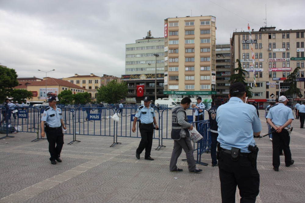 HDP Samsun Mitingine Protesto galerisi resim 24