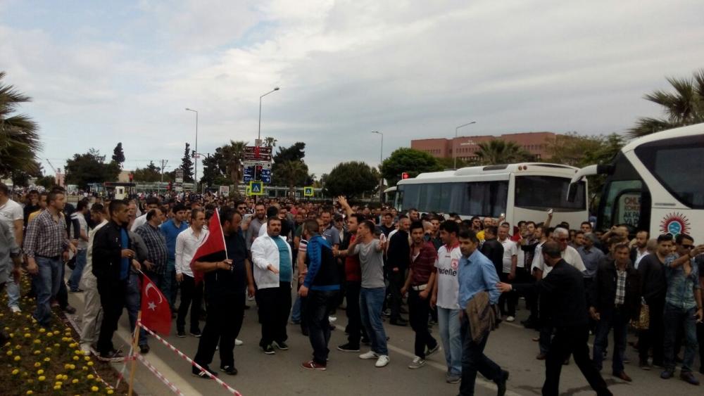 HDP Samsun Mitingine Protesto galerisi resim 5