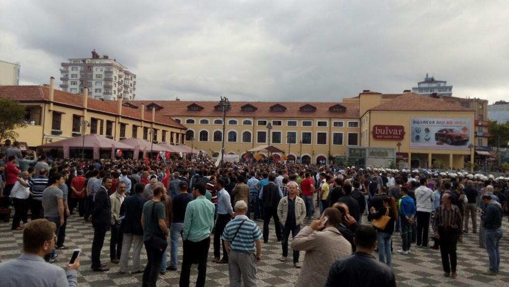 HDP Samsun Mitingine Protesto galerisi resim 8