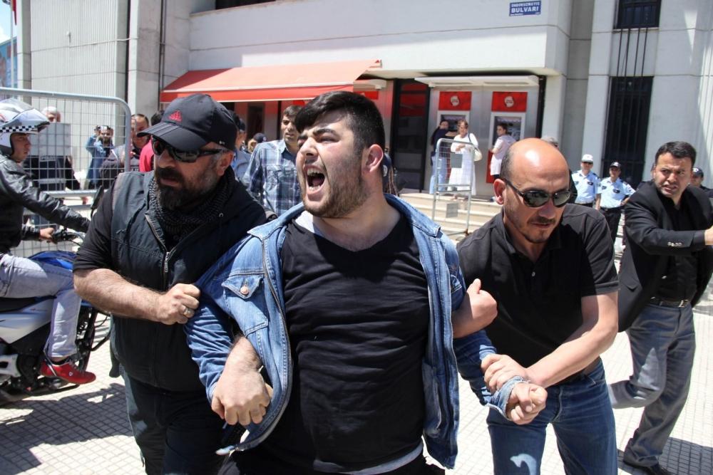 HDP Samsun Mitingine Protesto galerisi resim 9
