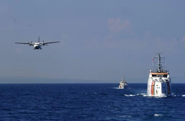 Karadeniz'deki Black Sea Hawk tatbikatı nefes kesti galerisi resim 9