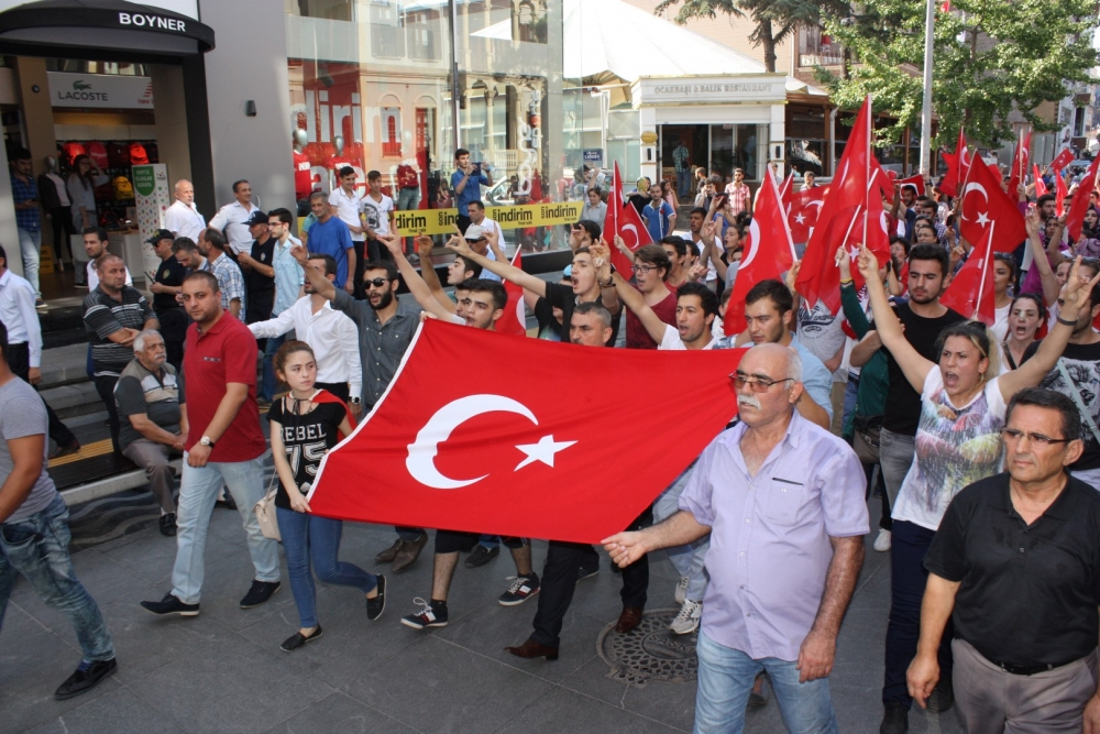 Samsun'da Teröre Lanet Yürüyüşü galerisi resim 7
