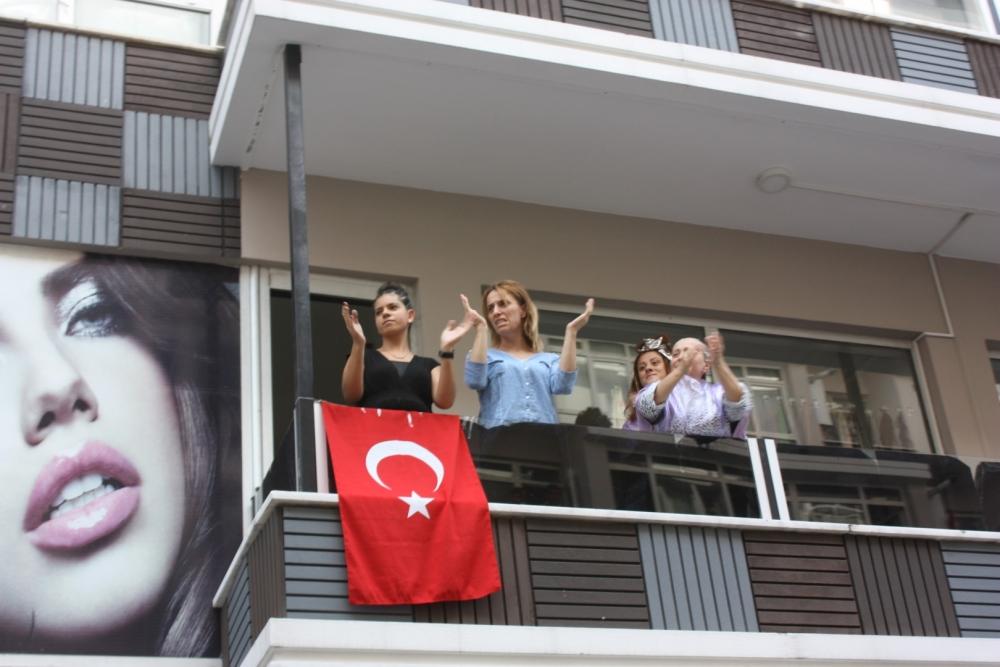 Samsun'da Teröre Lanet Yürüyüşü galerisi resim 9