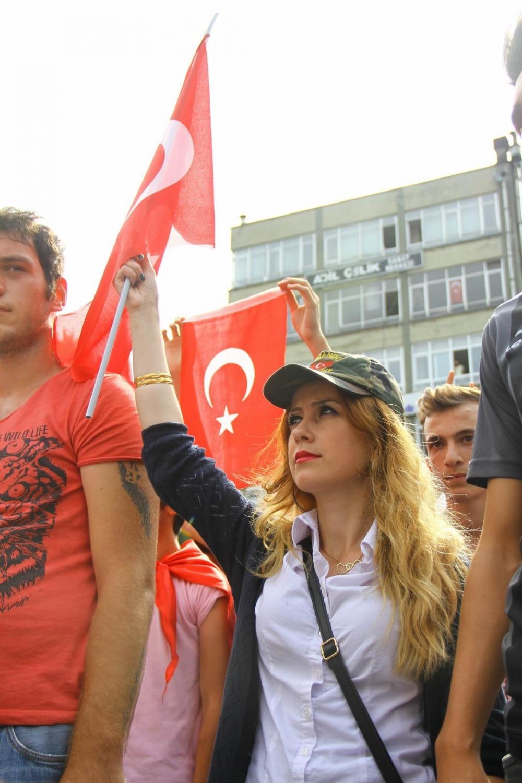 Samsun'un Gençleri Teröre Karşı Yürüdü galerisi resim 2