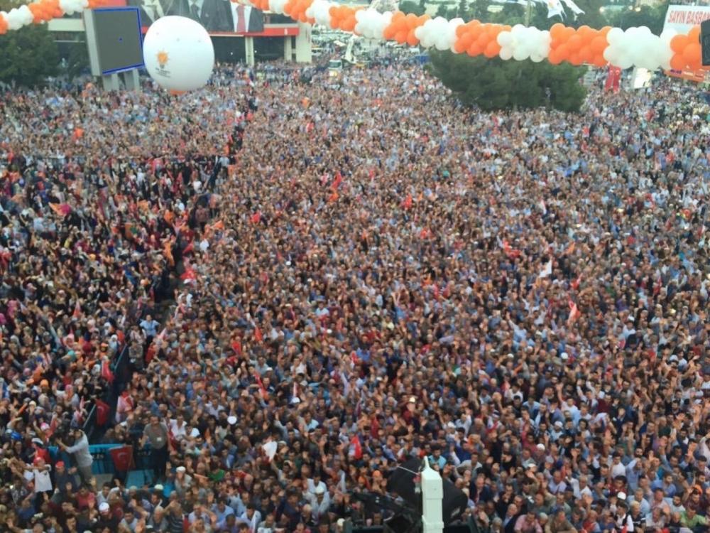 Başbakan Davutoğlu Samsun Mitinginde Konuştu galerisi resim 5