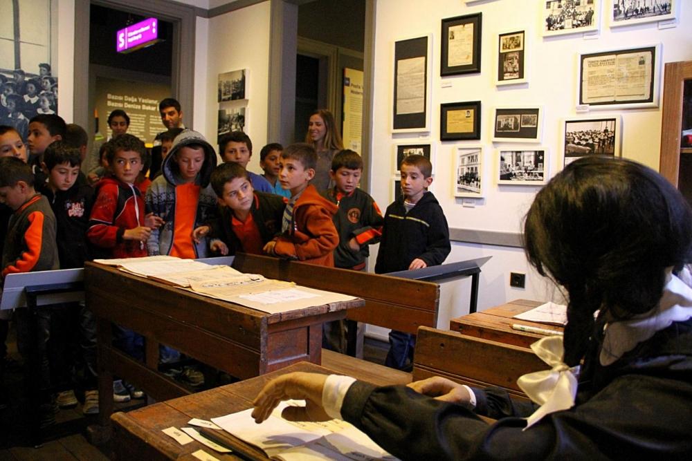 Samsunlu Çocuklar İlk Kez Müze Gezdi galerisi resim 1