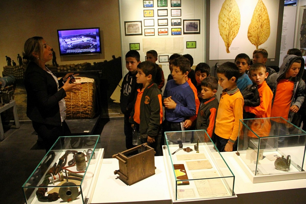 Samsunlu Çocuklar İlk Kez Müze Gezdi galerisi resim 2