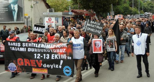 Samsun'da Terörü Protesto Ettiler, Türk Bayrağı Taşımadılar galerisi resim 10
