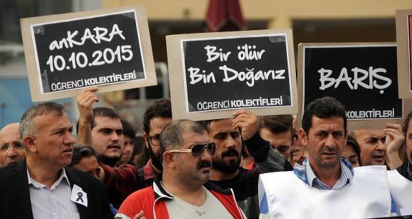 Samsun'da Terörü Protesto Ettiler, Türk Bayrağı Taşımadılar galerisi resim 8