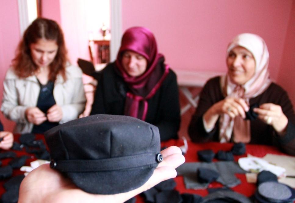 Samsun'da Kadınlar 8 Köşe Yapıyor galerisi resim 4
