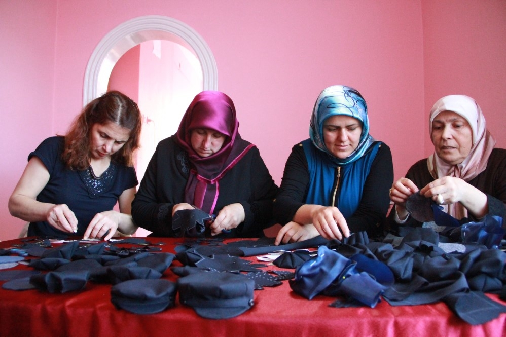 Samsun'da Kadınlar 8 Köşe Yapıyor galerisi resim 8