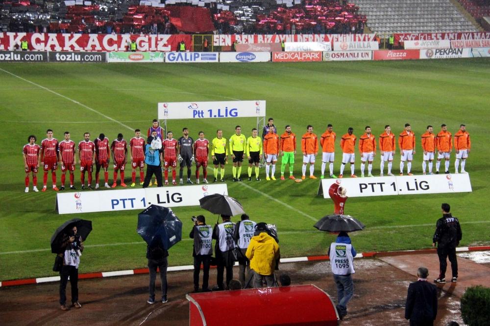 Samsunspor - Adanaspor Maçından Kareler galerisi resim 5