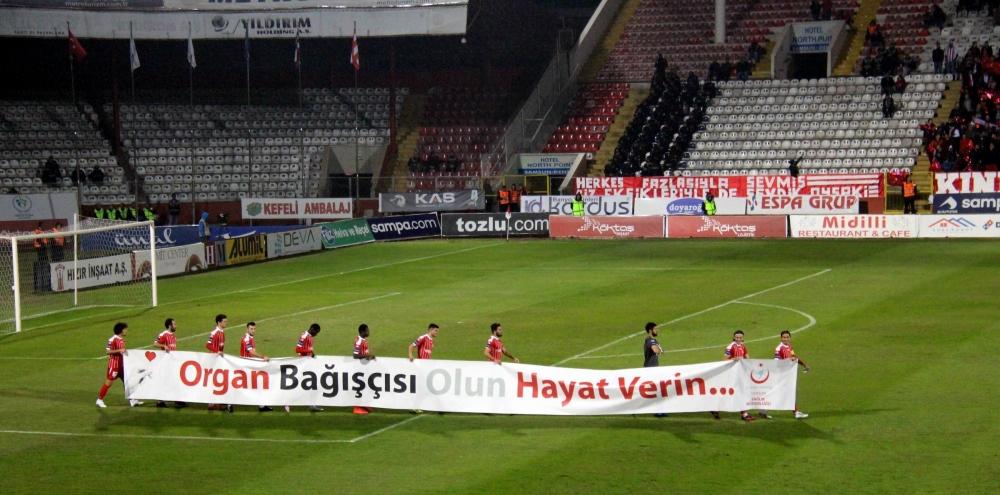 Samsunspor - Adanaspor Maçından Kareler galerisi resim 6