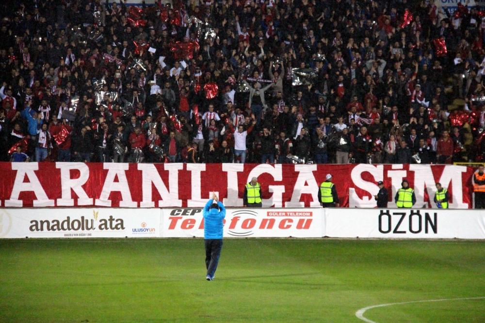 Samsunspor - Adanaspor Maçından Kareler galerisi resim 7