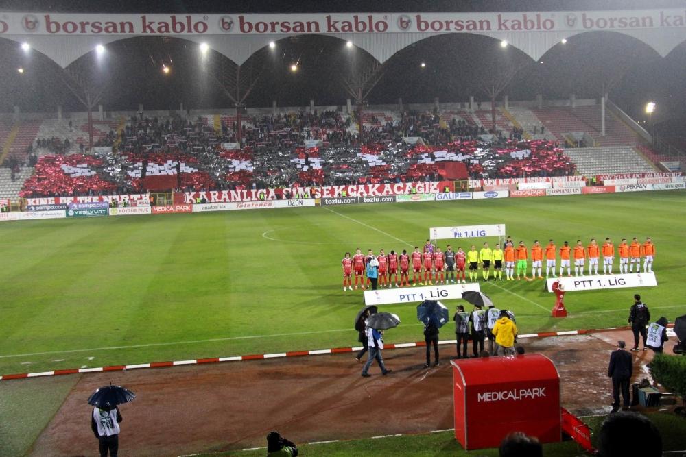 Samsunspor - Adanaspor Maçından Kareler galerisi resim 8