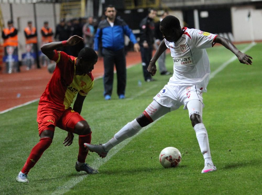Göztepe Samsunspor Maçından Fotoğraflar galerisi resim 10