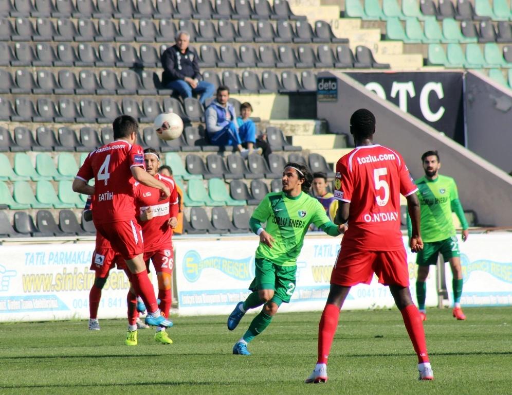 Denizlispor - Samsunspor karşılaşması beraberlik ile Bitti galerisi resim 5